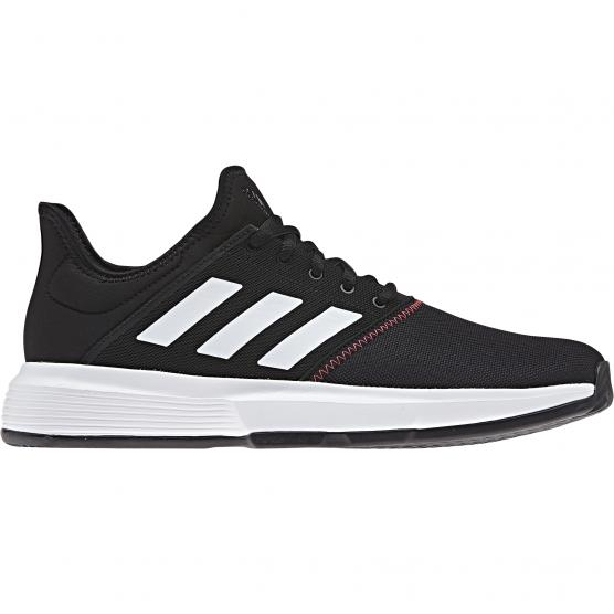 ADIDAS GAMECOURT M SHOCK CORE BLACK/FTWR WHITE/SHO