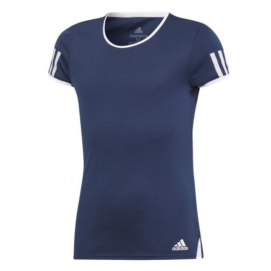 ADIDAS GIRLS CLUB TEE COLLEGIATE