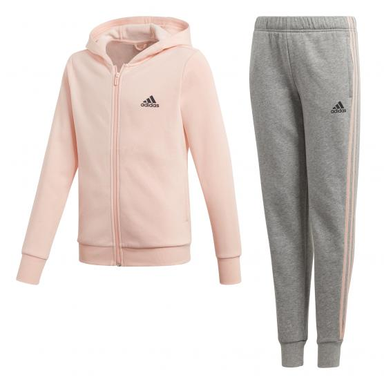 ADIDAS HOODED COTTON TRACK SUIT