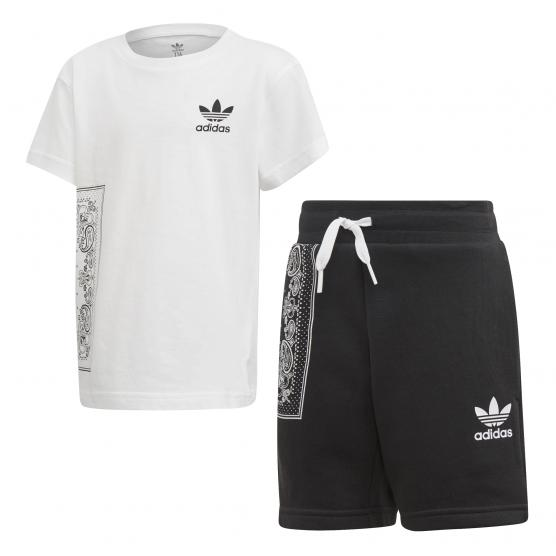 ADIDAS ORIGINALS BANDANA TEE SET