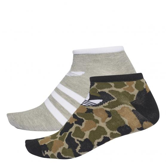 ADIDAS ORIGINALS L SOCK GRA 2PP