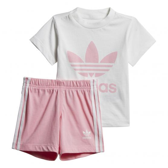 ADIDAS ORIGINALS SHORT TEE SET