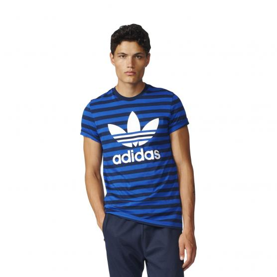 ADIDAS ORIGINALS STRIPED TEE