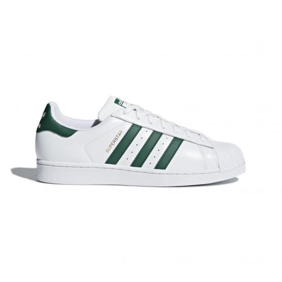 ADIDAS ORIGINALS SUPERSTAR FTWWHT/CGREEN/FTWWHT
