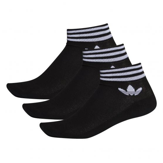 ADIDAS ORIGINALS TREFOIL ANKLE SOCK 3PP