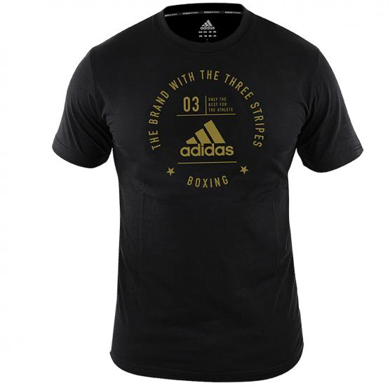 ADIDAS T-SHIRT COMMUNITY CON STAMPA BOXING
