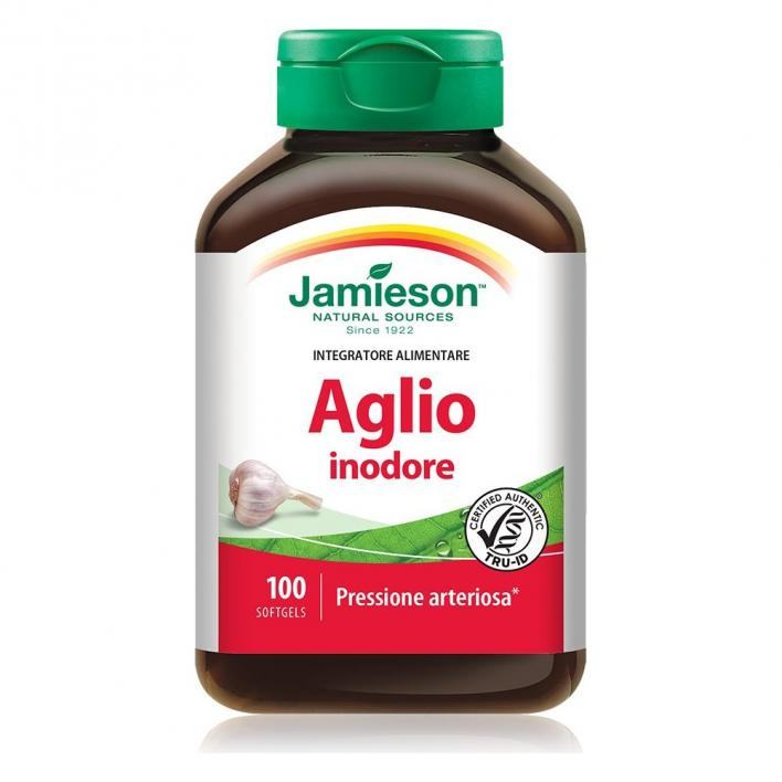 JAMIESON ODORLESS GARLIC