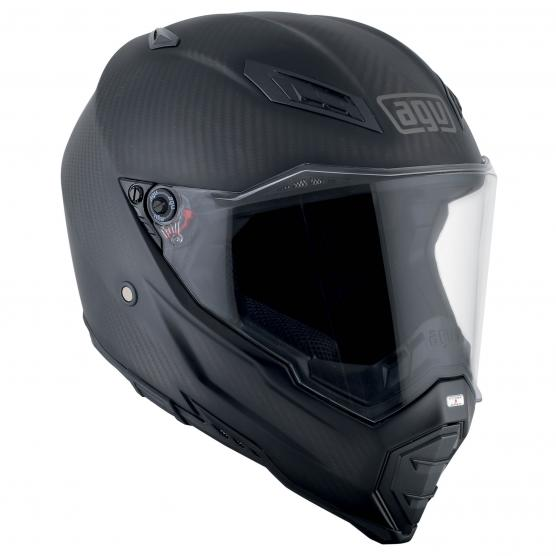 AGV AX-8 Naked Carbon Solid