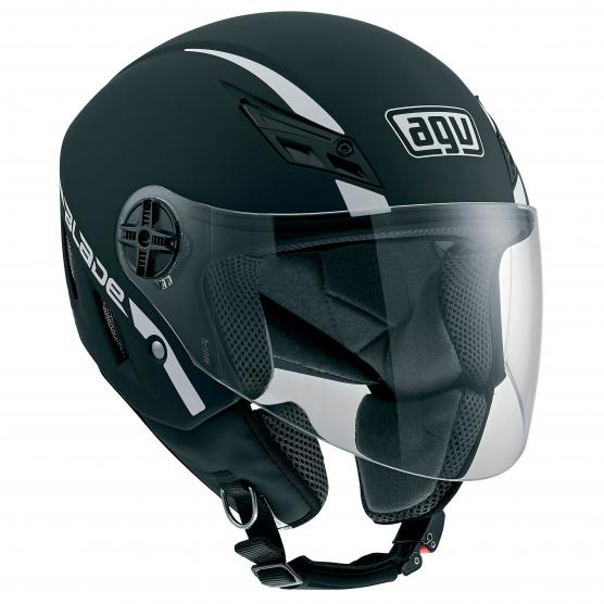 Image of agv blade solid black