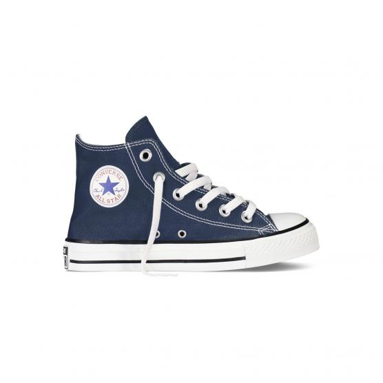 Image of all star hi star canvas navy