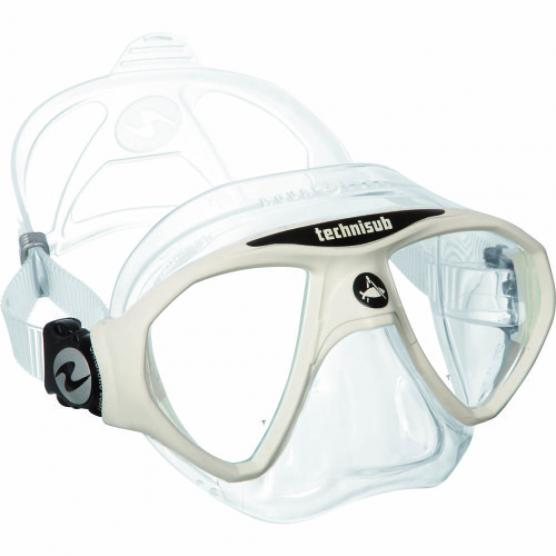 AQUALUNG MICROMASK CLEAR SIL/WHITE