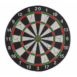 GARLANDO Orion Darts Flocked Target