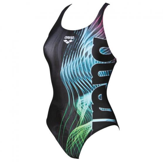 ARENA W SHADES ONE PIECE SWIM PRO BACK