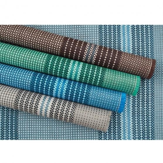 ARISOL Light Blue mat 250x400 for camping porch