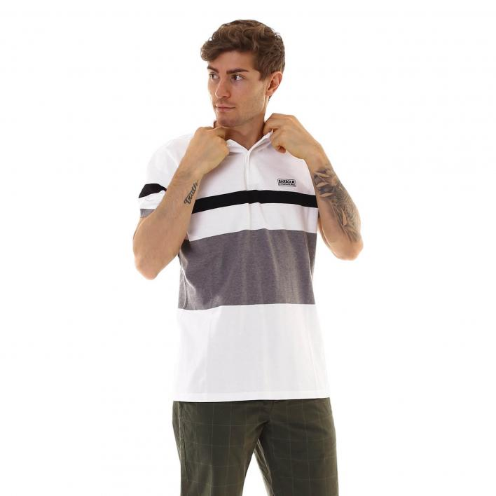 BARBOUR CLAX STIPE POLO