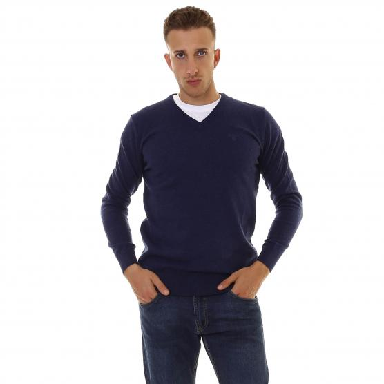 BARBOUR ESSENTIAL LAMBSWOOL V-NECK