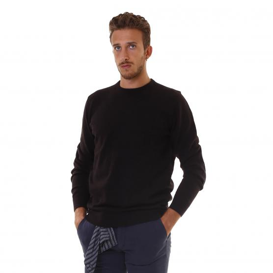 BARBOUR HARROW CREW NECK BR77