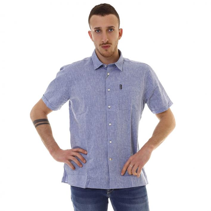BARBOUR LINEN MIX 1 S/S SHIRT