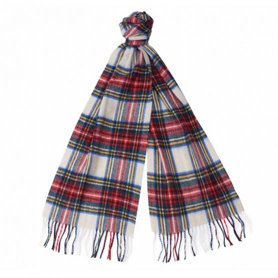BARBOUR NEW CHECK TARTAN SCARF RE35