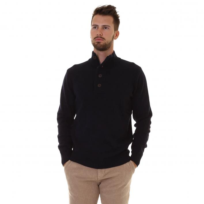 BARBOUR PATCH HALF ZIP WILLOW