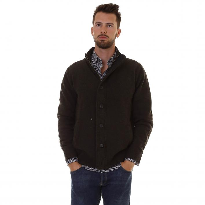 BARBOUR PATCH ZIP THRU STONE