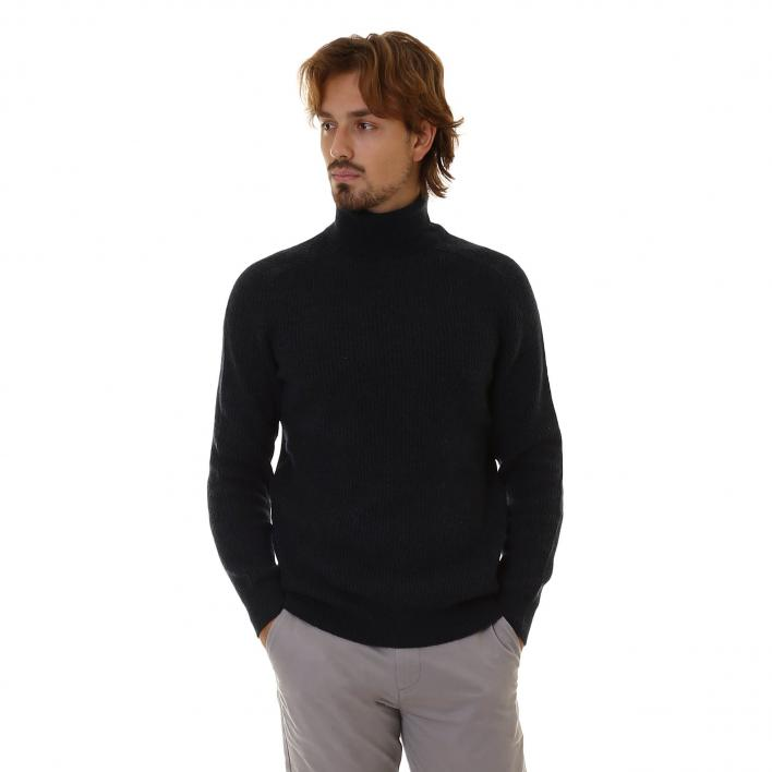 BARBOUR ROLL NECK MAN KNITWEAR