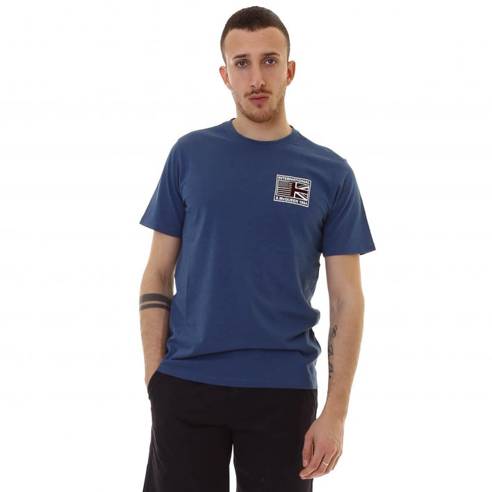 BARBOUR TEAM FLAGS TEE