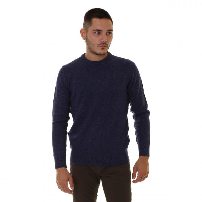BARBOUR TISBURY CREW MAN KNITWEAR