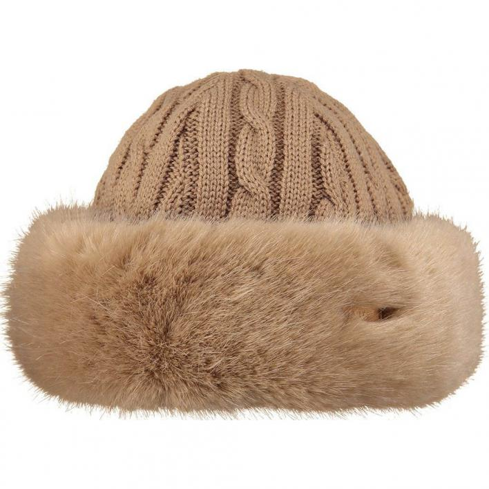BARTS FUR CABLE BAND HAT