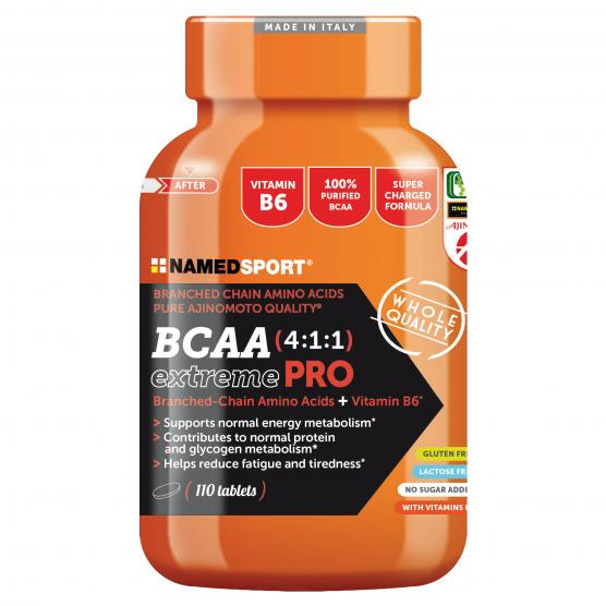 NAMED SPORT BCAA 4:1:1 Extreme Pro 110cpr