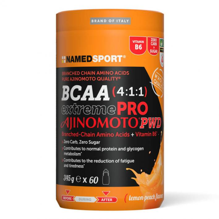 NAMEDSPORT BCAA Extreme Pro Ajinomoto Lemon Peach 345 g