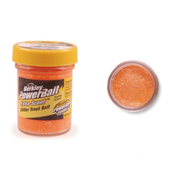 BERKLEY SELECT GLITTER TROUTBAIT FLUO ORANGE