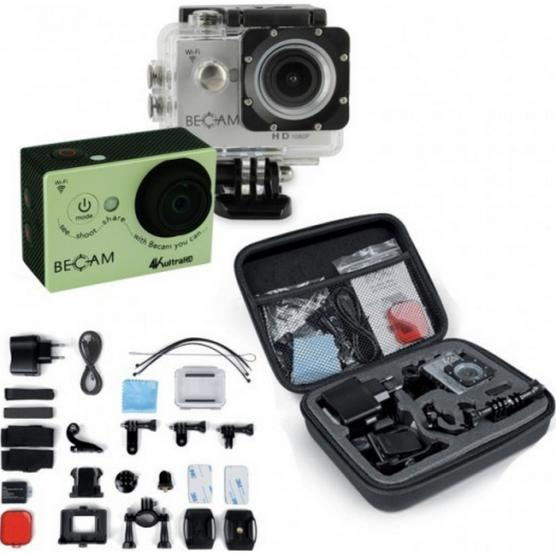 BEST DIVERS BECAM ACTION CAMERA 4K 50 MT