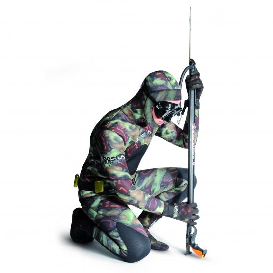 BEST DIVERS MUTA APNEA MIMETIC CAMO SET SUIT 3MM BIFODERATA