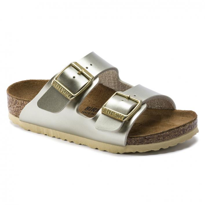 BIRKENSTOCK ARIZONA ELECTRIC METALLIC GOLD