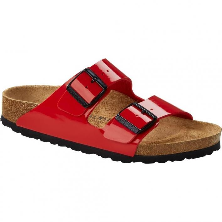 BIRKENSTOCK ARIZONA PATENT CHERRY