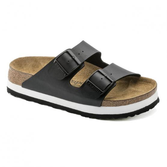 BIRKENSTOCK ARIZONA PLATEAU BLACK