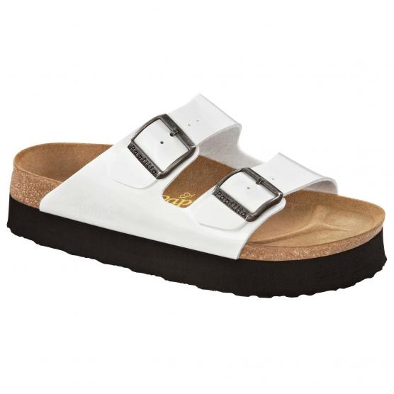 BIRKENSTOCK ARIZONA PLATEAU WHITE