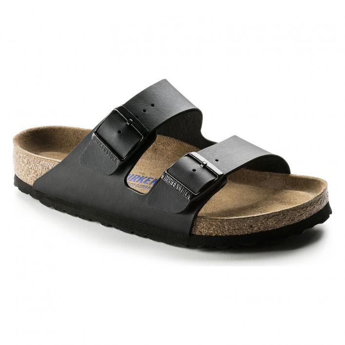 BIRKENSTOCK ARIZONA SBF BLACK