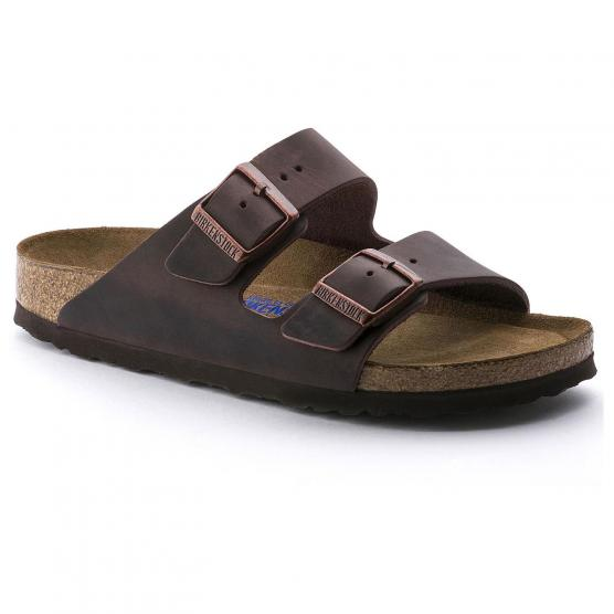 BIRKENSTOCK ARIZONA SFB LEATHER HABANA