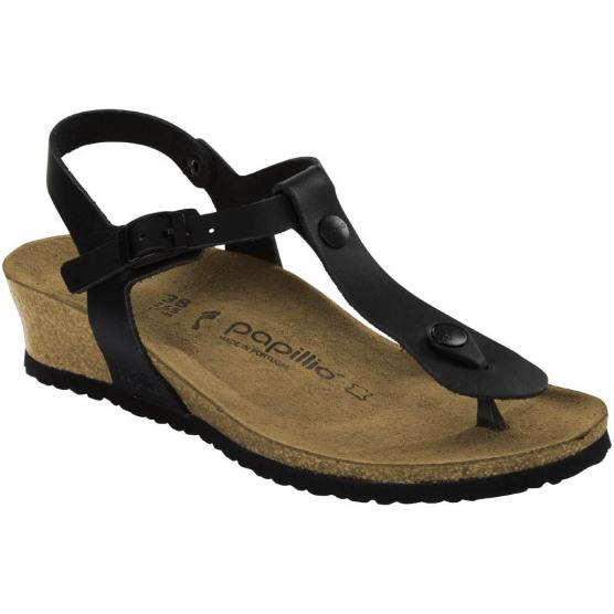 BIRKENSTOCK ASHLEY LEATHER BLACK