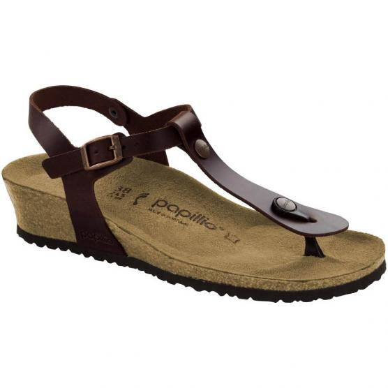BIRKENSTOCK ASHLEY LEATHER COGNAC
