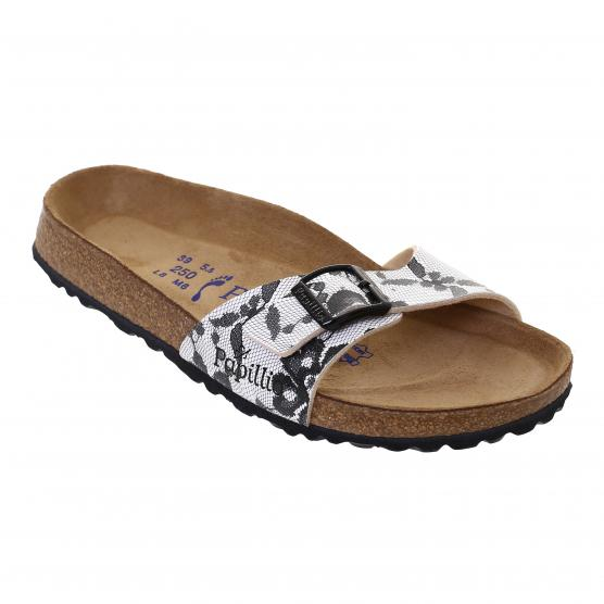 BIRKENSTOCK MADRID LACE BLACK NEW BIRKO FLOR