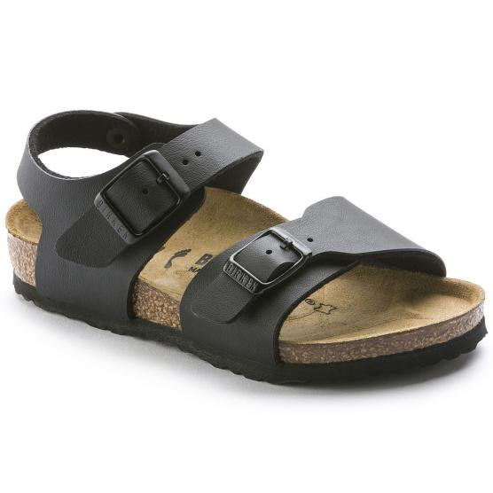 BIRKENSTOCK NEW YORK BLACK BIRKOFLOR