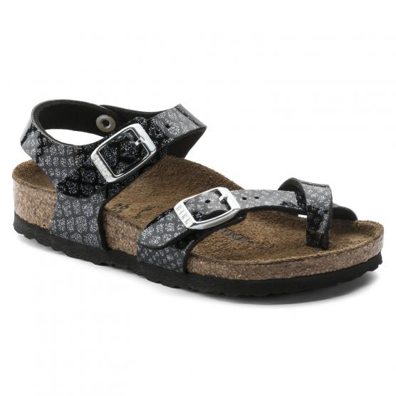 BIRKENSTOCK TAORMINA MAGIC SNAKE BLACK