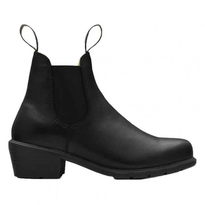 BLUNDSTONE LADY HEEL BLACK LEATHER