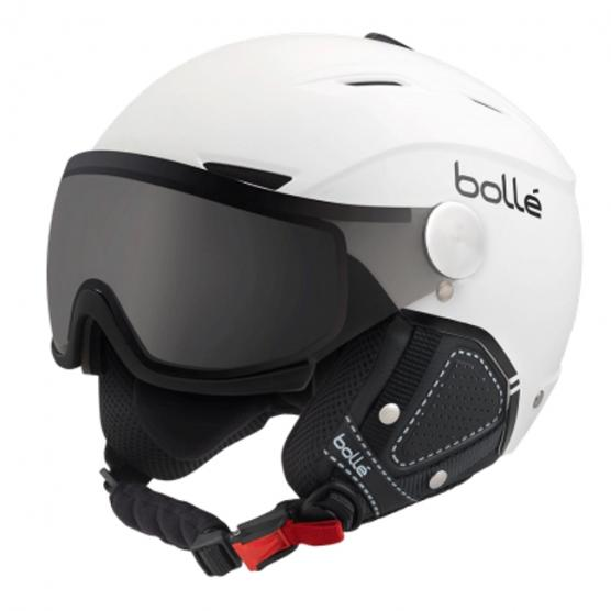 BOLLE' BACKLINE VISOR WHITE 54-56