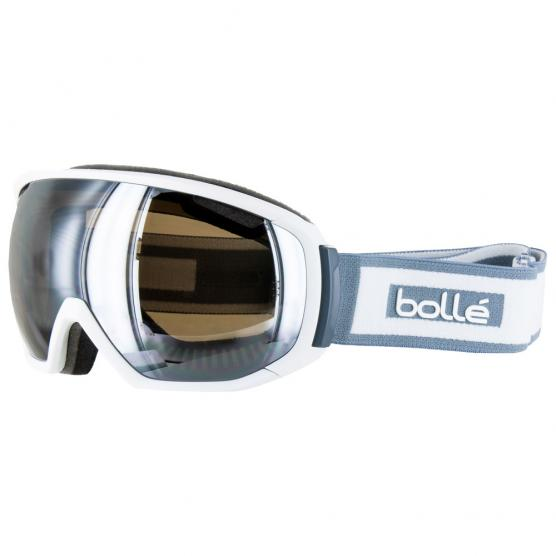 BOLLE' TSAR WHITE BLACK CHROME