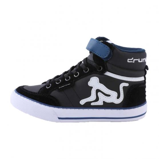 DRUNKNMUNKY BOSTON  CLASSIC BOY & GIRL K03 BLACK/BLUE
