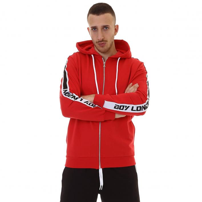 BOY LONDON CAPP ZIP FELPA